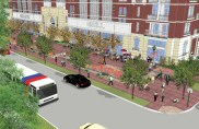 Ashby Urban Plaza rendering